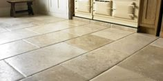 Stone Flooring Options: Granite, Marble, Slate, Quartz, and Limestone. You are spoiled with choices for a beautiful home! Choose your flooring depending on the room function! Flagstone Flooring, Brick Flooring, Wooden Flooring, Concrete Floors, Kitchen Flooring, Flooring Tiles, Garage Flooring, Black Vinyl Flooring, Grey Flooring