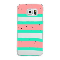 Samsung Galaxy / LG / HTC / Nexus Phone Case - Summer bright coral... ($40) ❤ liked on Polyvore featuring accessories, tech accessories, phone cases, phone and android case