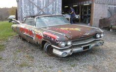 Big Fins: 1959 Cadillac Convertible - http://www.barnfinds.com/1959-cadillac-convertible/