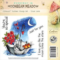 Crafters Companion > True Love - Moonbeam Meadow Everyday EZMount Stamp Set: A Cherry On Top