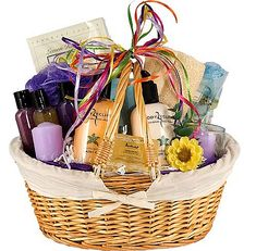 gift baskets for a woman.