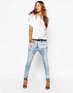 Image 4 ofG-Star Davin 3D Low Rise Boyfriend Jeans