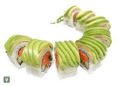 Vegetarian Sushi Rolls, Dragon Roll, Sushi Platter, Pickled Carrots, Pickles, Avocado, Menu, Delivery, Ethnic Recipes