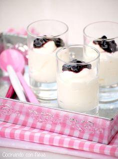 Neus cocinando con Thermomix: Mousse expres de yogur y queso