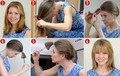Haare selber schneiden: So klappt es zu Hause ohne Friseur – ACHTUNG, nur auf … Cutting hair yourself: This is how it works at home without a hairdresser – ATTENTION, only try on your own responsibility Cut Own Hair, How To Cut Your Own Hair, Your Hair, Cut Hair Diy, Cut Hair At Home, Trendy Haircuts, Layered Haircuts, Step By Step Hairstyles, Diy Hairstyles