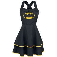 Batman Short dress ($69) ❤ liked on Polyvore featuring dresses, laced dress, double layer dress, zipper mini dress, layered dress and lace up dress