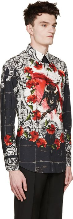 Dolce & Gabbana | Black & White Matador Shirt