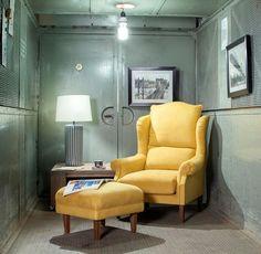 Mit diesem Sessel geht doch in jedem Raum die #Sonne auf! #industrial