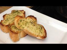 Pan De Ajo Para Pastas/Garlic Bread for pastas Cooking Videos, Cooking Recipes, Scampi, Garlic Bread, Canapes, Yummy Yummy, Queso, Donuts, Dips