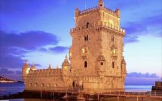 "Belém Tower Fortified Tower Belém Tower, or the ""Tower of St Vincent"", is a fortified tower located in the civil parish of Santa Maria de Belém in the municipality of Lisbon, Portugal. Have A Great Vacation, Great Vacations, Sea Activities, Tower Bridge, World Heritage Sites, Monument Valley, Beautiful Places, Places To Visit, Around The Worlds"
