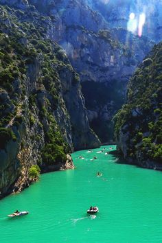 italian-luxury:  Gorges du Verdon