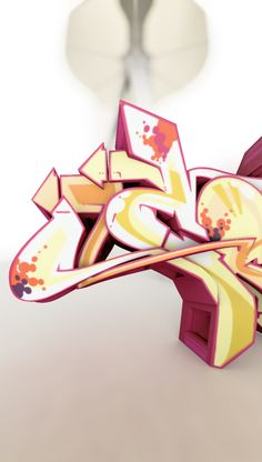 Graffiti Sculpture, CanTwo, CAN2, Urban Culture Art Collection, 3D printed, Designer Toy