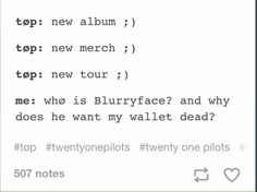 I have been consumed by blurryface then...have all 3