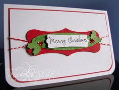 The Card Grotto: Christmas Labels