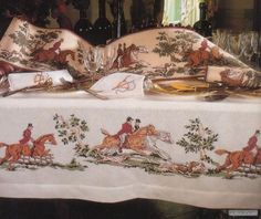 Counted Cross Stitch Patterns, Cross Stitching, Pattern Design, Horses, Embroidery, Painting, Gallery, Fair Isles, Tablecloths