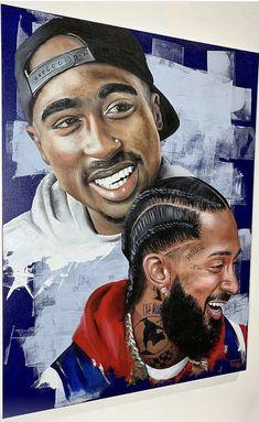 Black Art Painting Love Life 35 Ideas For 2019 Black Love Art, Black Girl Art, Art Girl, Black Art Painting, Black Artwork, Tupac Art, Rapper Art, Black Art Pictures, Hip Hop Art