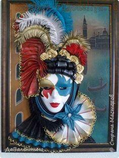 Мастер-класс по изделиям из кожи: Венецианский карнавал