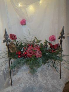 http://www.bloemenvanbluelagoon.com Kerststuk Punt