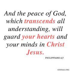 Philippians 4:7 | Bible Verses