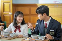"""[Photos] New Stills and Behind the Scenes Images Added for the Korean Drama """"Extraordinary You"""" @ HanCinema :: The Korean Movie and Drama Database Kim Ro Woon, Kdrama, Mbc Drama, W Two Worlds, Korean Boys Ulzzang, Kim Sang, Korean Drama Movies, Scene Image, Couple Aesthetic"""