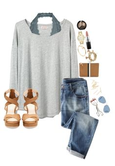 """""""-Fuller House is -"""" by lydia-hh ❤ liked on Polyvore featuring Organic by John Patrick, Free People, e.l.f., Kate Spade, MAC Cosmetics, Pull&Bear, Cartier, Forever 21, Clare V. and Kevyn Aucoin"""