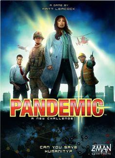 Pandemic My Rating: 81 BGG Ranking 61