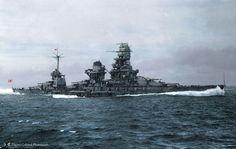 Japanese Navy Battleship Kongo Dreadnought