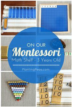 Our Montessori Math Shelf – 3 Years Old