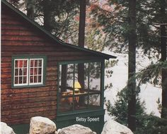 #Cabin Interriors & Decor ... #log #cabins Betsy Speert's Blog: Lake Sunapee Cabin-Cottage