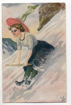 Andreas Block 1908- Christmas Cards, Christmas Postcards, Norway, Auction, Manga, Retro, Painting, Fictional Characters, Art