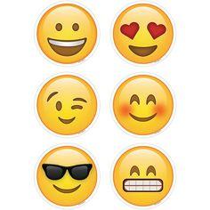 Emojis 3In Cutouts $4.49