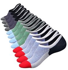 MZ Mens 6 Pairs Cotton Low Cut No Show Casual Crew Ankle Non-slide Socks for sale online Loafers With Socks, Casual Loafers, Loafers Men, Non Slip Socks, Thing 1, Cool Socks, Best Socks, No Show Socks, Ankle Socks