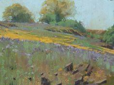 Bill Cone pastel landscape