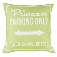 Princess Parking Only Large Verde by Carillon design