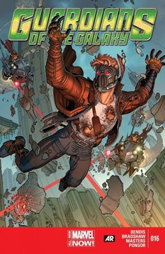 Guardians of the Galaxy Vol. 3 #16 Starlord on the run from a mysterious new adversary-- alone without the aid of the Guardians!