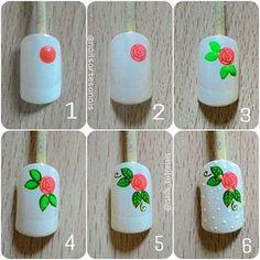 Nails University. Ногти и Маникюр пошагово. Best Nail Art Designs, Colorful Nail Designs, Nail Designs Spring, Nail Manicure, Diy Nails, Shabby Chic Nails, Nail Art Modele, Peacock Nail Art, Cute Toe Nails