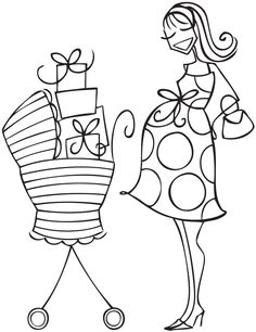 Stamping Bella - Unmounted Rubber Stamp - Baby Carriage -Abella