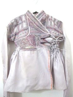 placement of pocket and ties ..... Traditional Rabari Jacket (Vintage)