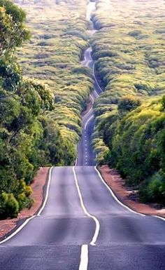 Planning an Aussie road trip? AUS Australia driving on the road beautiful roads dream roads The Road, Beautiful Roads, Beautiful Places, Beautiful Pictures, Beautiful Sky, Amazing Places, Brisbane, Melbourne, Places To Travel