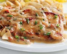 Heavenly Scents Recipes: Pork Chops with Creamy Marsala Sauce Recipe Diabetic Friendly