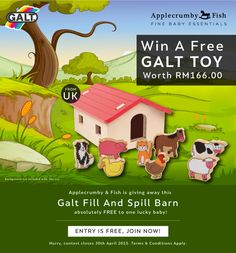 Win A Galt Toy Worth RM166.00
