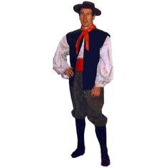 Paysan code produit : 945-555 6 pièces : Chemise, Pantalon, Gilet, Foulard et Chapeau. Taille(s) : 54.