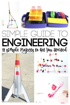 Lots of great STEM projects for Exploring Creation with Chemistry and Physics: Simple Guide to Engineering projects for kids Science Activities For Kids, Preschool Science, Teaching Science, Stem Activities, Science Experiments, Teaching Ideas, Stem Teaching, Science Guy, Forensic Science