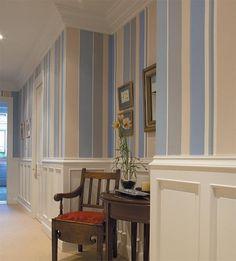 pasillos decorados con papel pintado buscar con google