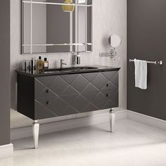 Our sleek and stylish Decor unit is the perfect storage solution for a glamorous bathroom. Made To Measure Furniture, Furniture Making, Bathroom Styling, Bathroom Interior Design, Bathroom Furniture, Furniture Decor, Contemporary Style Bathrooms, Glamorous Bathroom, Bathroom Accessories Luxury