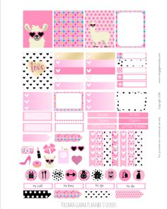 627 best Free Planner Stickers images on Pinterest in 2018 ...