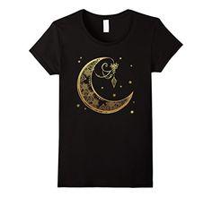 Women's Celestial Gold Crescent Moon t-shirt Small Black ... https://www.amazon.com/dp/B01I407E3S/ref=cm_sw_r_pi_dp_FY2IxbJN0A2T9
