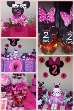 Minnie party decoration