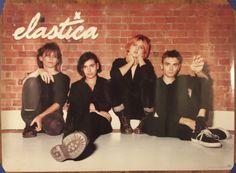 Elastica Promo Poster - Vintage 90s - Alternative Britpop Rock