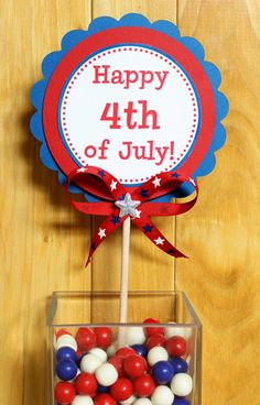 4th of July Patriotic XL Centerpiece